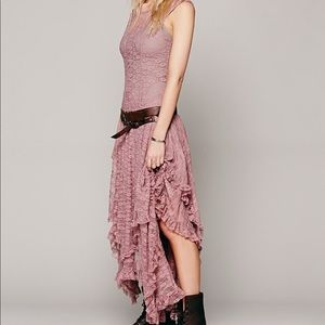 Free People Intimately French Courtship Slip Pink